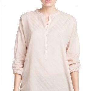 Jacquard Cotton Blend Mango Long Sleeve Summer NWT